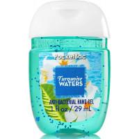 Антисептический гель для рук Bath & Body Works PocketBac Turquoise Waters Anti Bacterial Hand Gel Sanitizer 29 ml