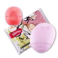 Набор бальзам для губ, крем для рук и салфетки EOS Limited Edition Pink Grapefruit Lip Balm, Hand Lotion & Kleenex Kit