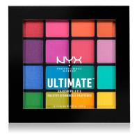 Палетка теней NYX Professional Makeup Ultimate Shadow Palette - 04 Brights Уценка с царапинами
