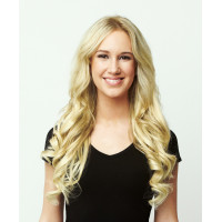 Волосы для наращивания натуральные Luxy Hair Bleach Blonde 613