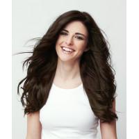 Волосы для наращивания натуральные Luxy Hair Dark Brown 2