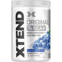 Аминокислоты с разветвленной цепью Scivation Xtend Original BCAA Powder Blue Raspberry Ice со вкусом ежевичного мороженого, 30 порций