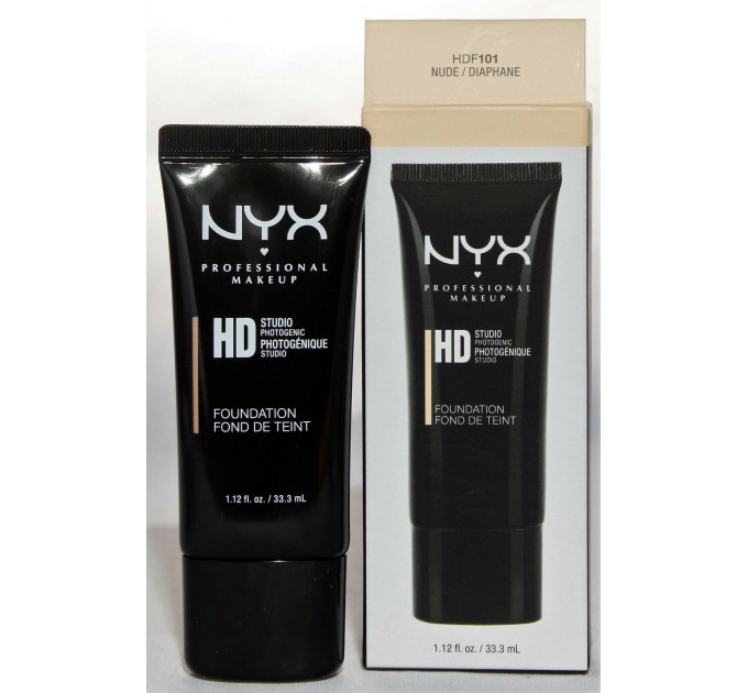 NYX (Никс) HD Studio Photogenic Foundation тональная основа оригинал